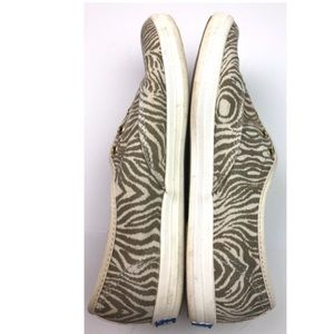 Keds Shoes - Keds Animal Tiger Print Canvas Sneakers Slip On